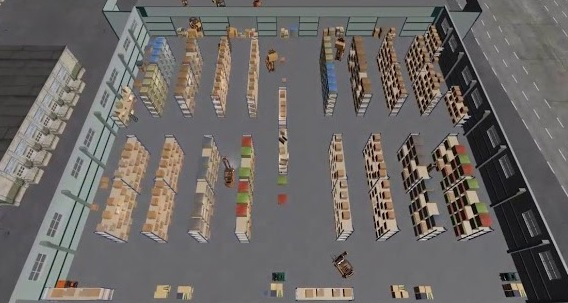 A.I.Planning을 이용한 항공물류 스마트 솔루션  소개영상